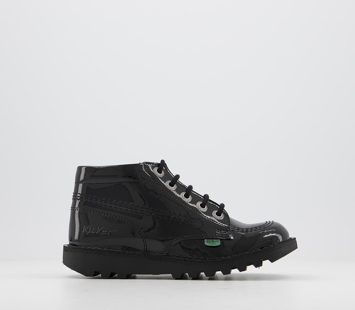 Kick Hi Zip Jnr Boots
