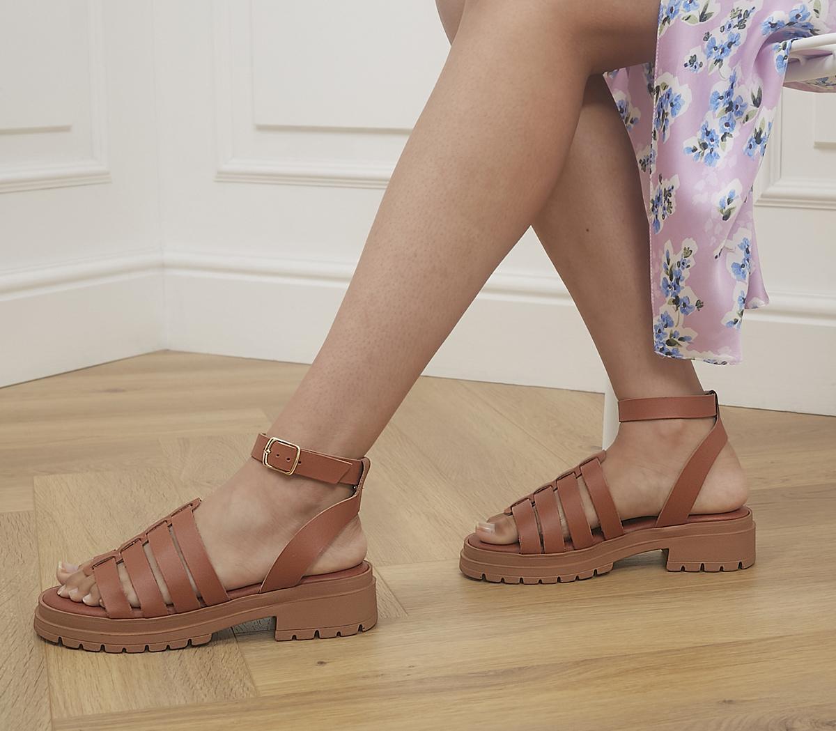 Sawyer Chunky Gladiator Sandals