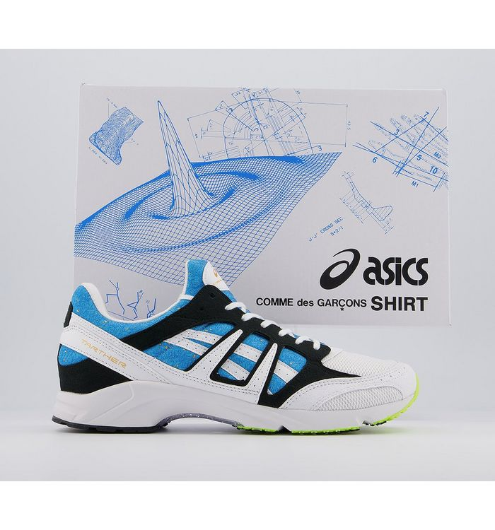 Comme Des Garcons Asics Cdg Tarther Sd Trainers BLUE,Blue,Purple