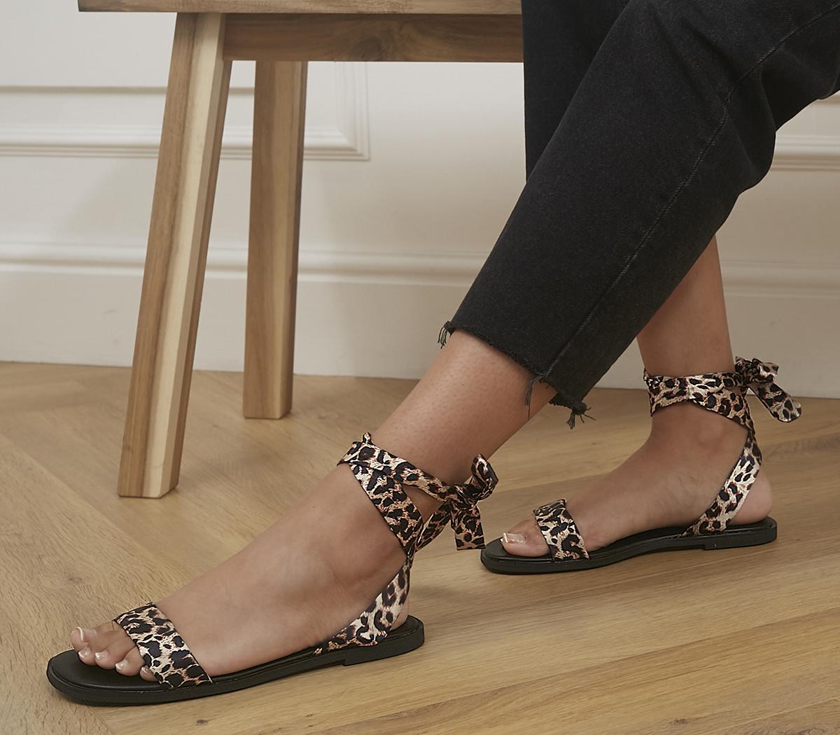 Scandal Tie Up Sandals