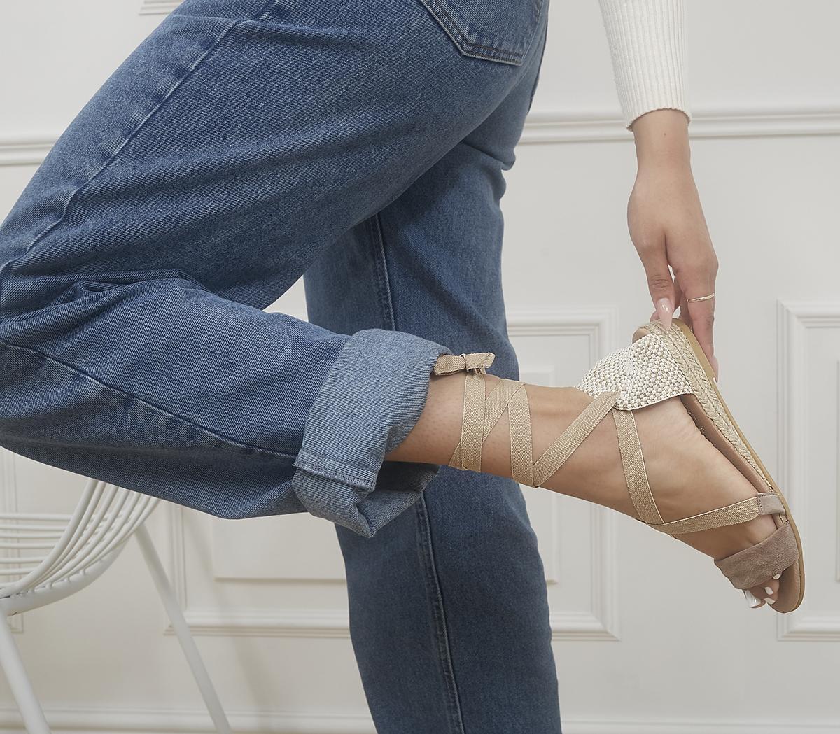 Songbird Tie Up Espadrille Sandals
