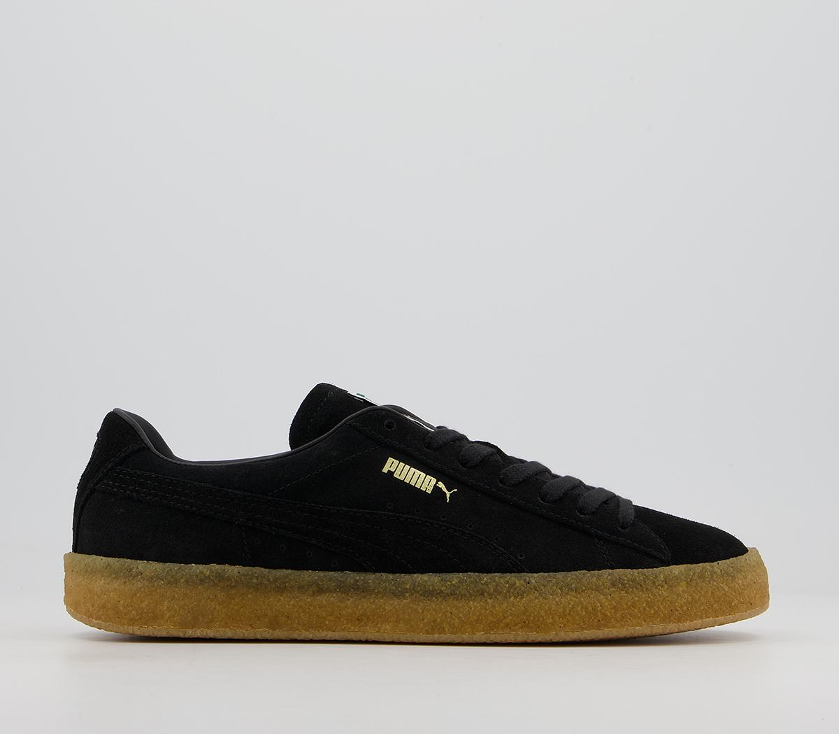 Suede Crepe Trainers