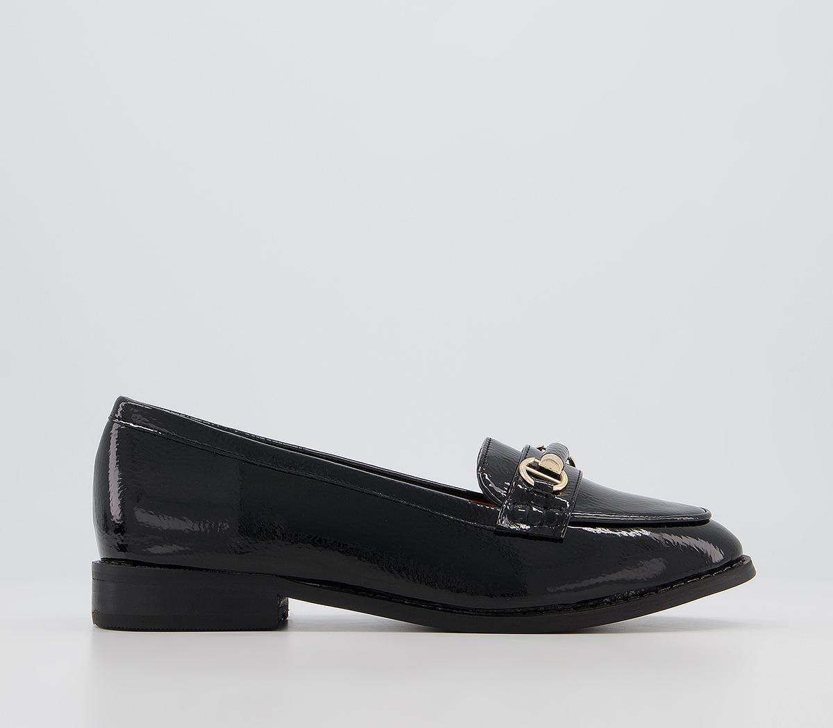 Fancy Snaffle Trim Loafers