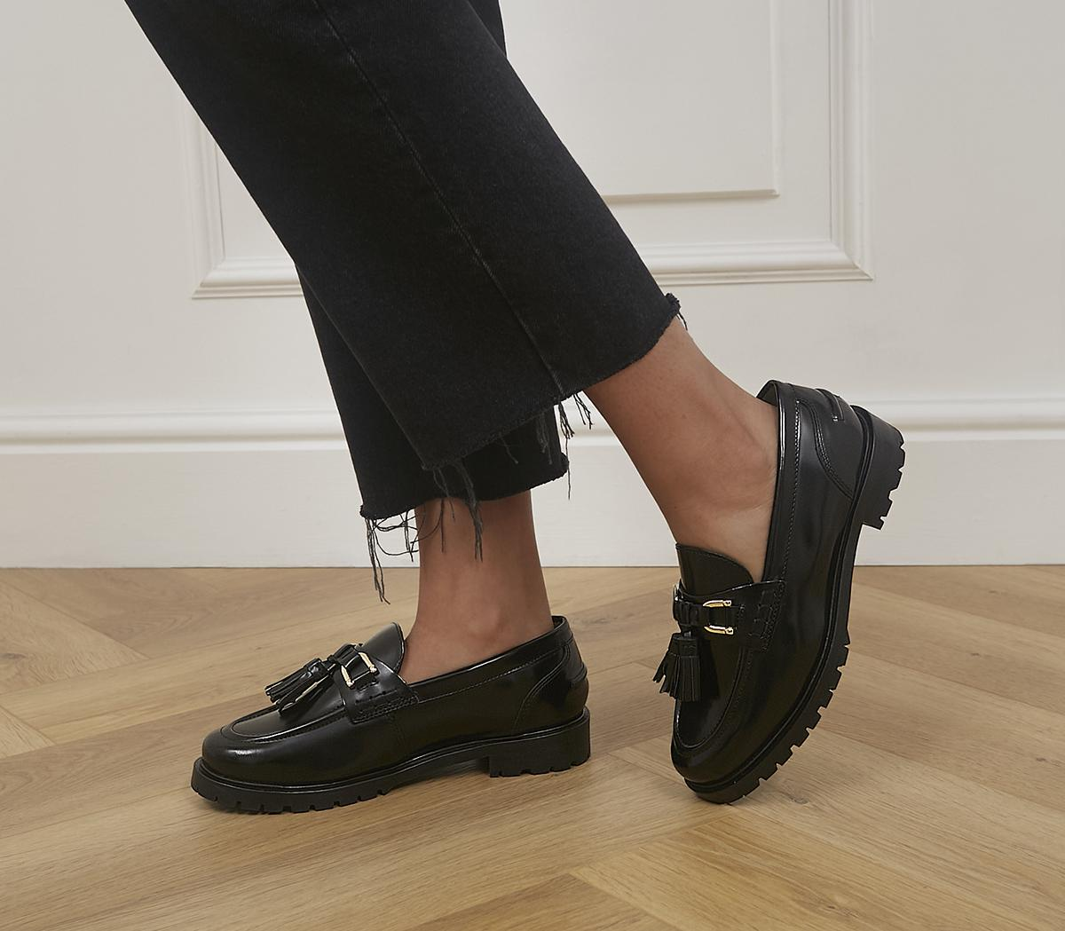 Fawn Chunky Tassle Loafers