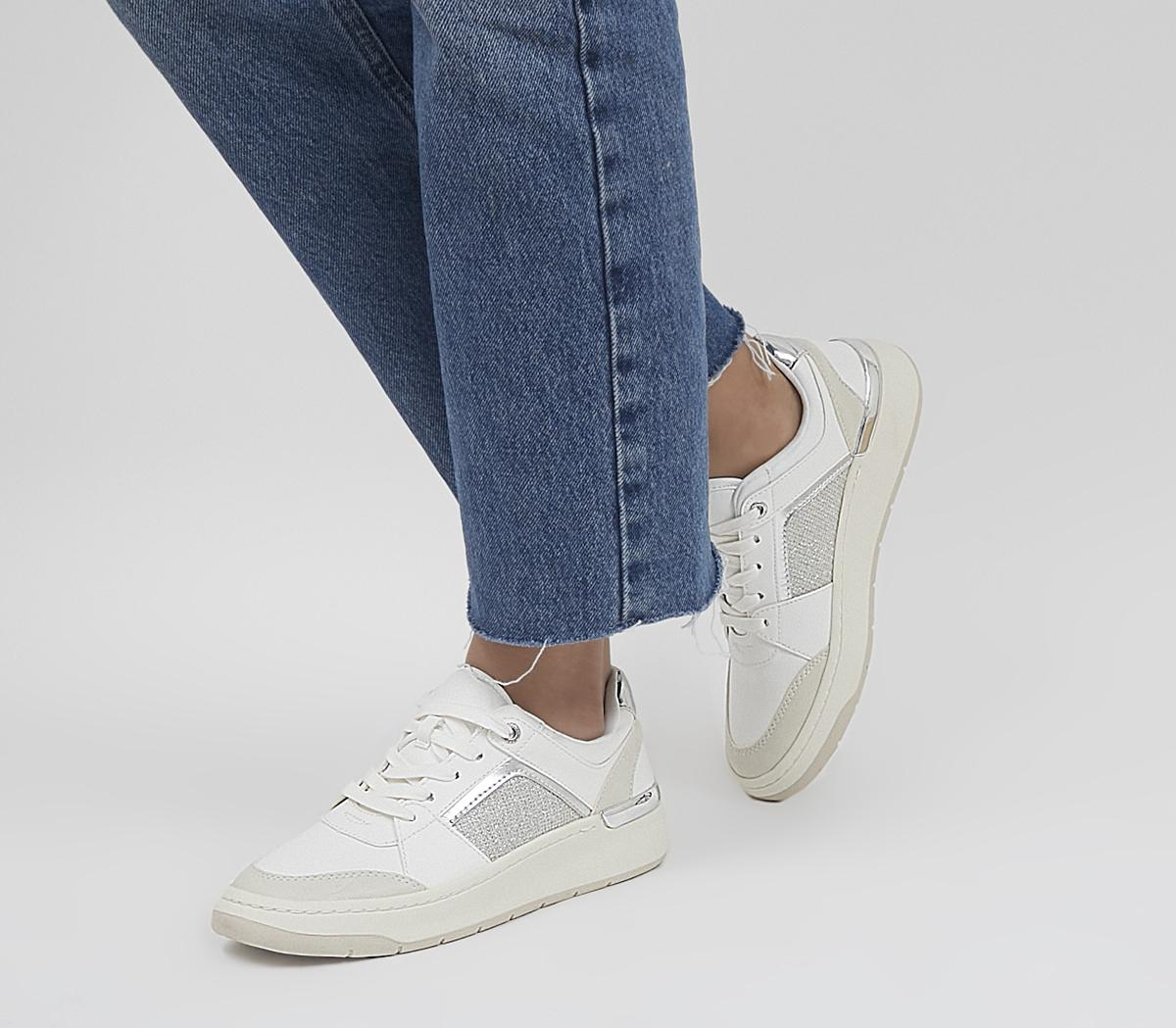 Fairside Feature Heel Clip Lace Up Trainers