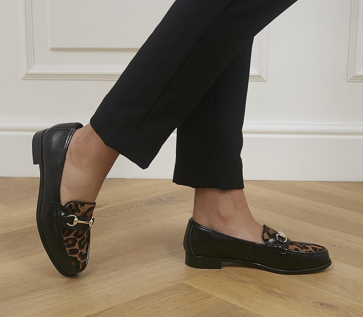 Formally Snaffle Trim Loafers
