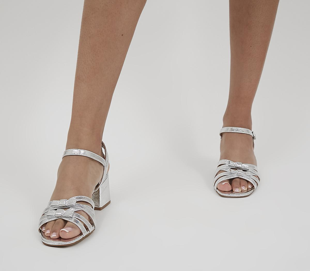 Machan Bow Detail Low Block Heels