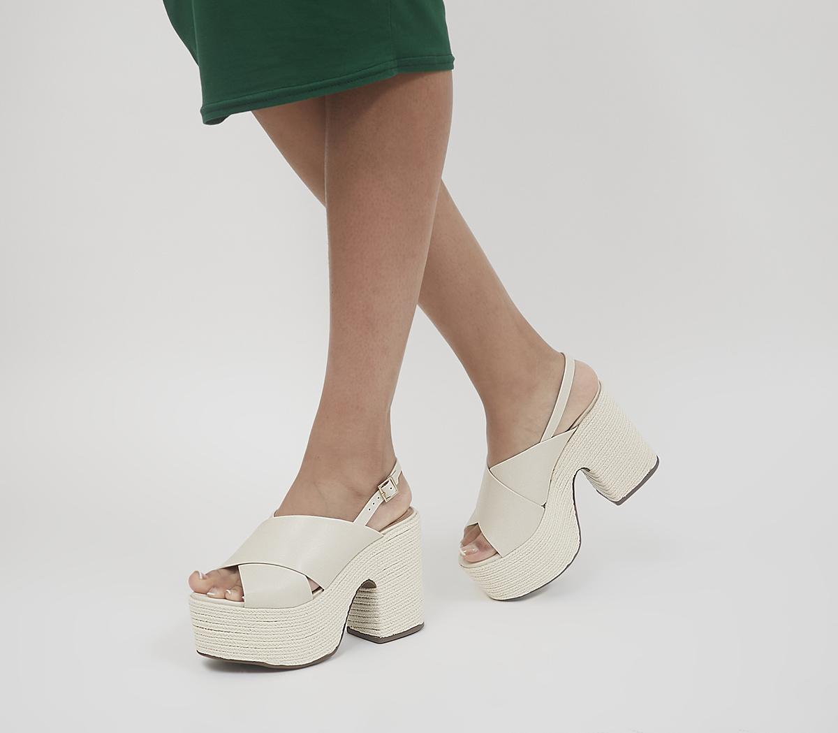 Hoffen Platform Espadrille Heels