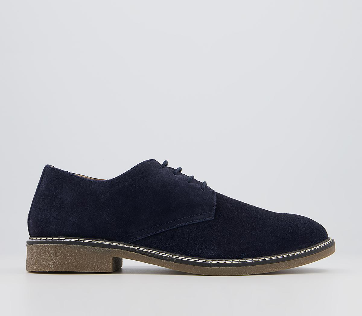 Cheshire Suede Casual Derby Shoes