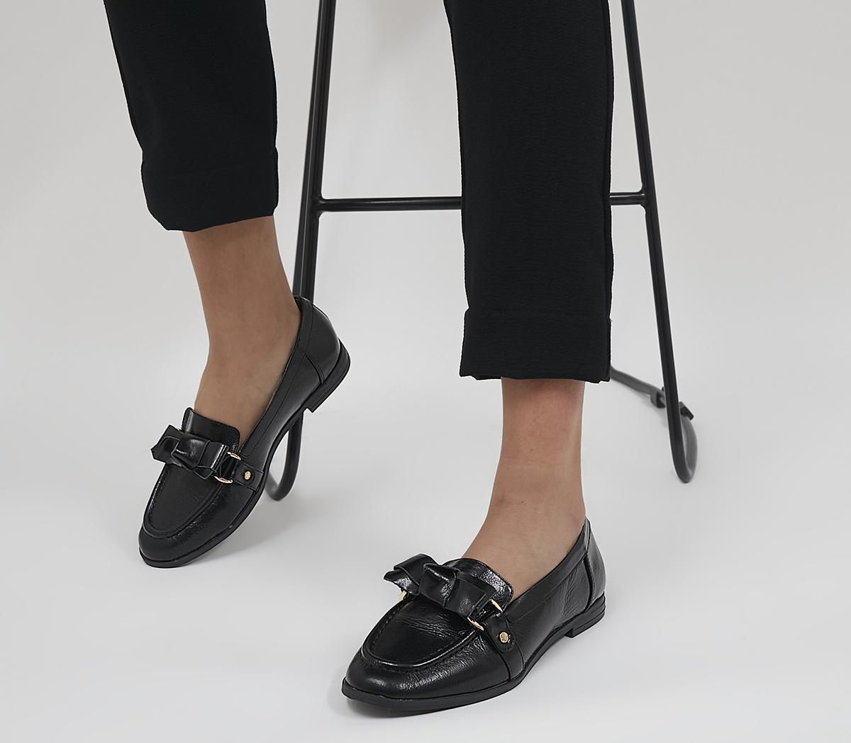 Flawless Soft Bow Loafers