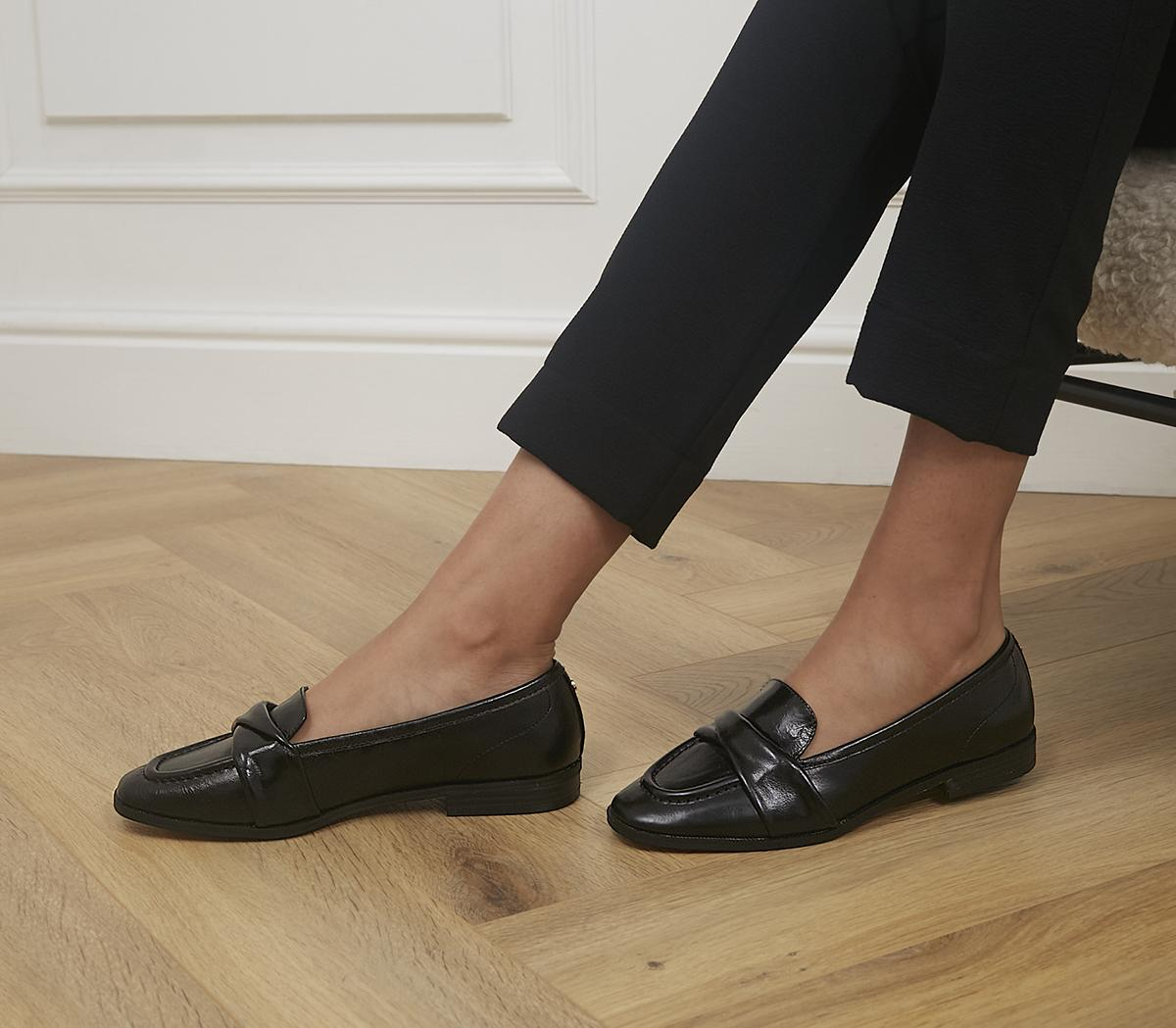 Fellow Folded Detail Loafers