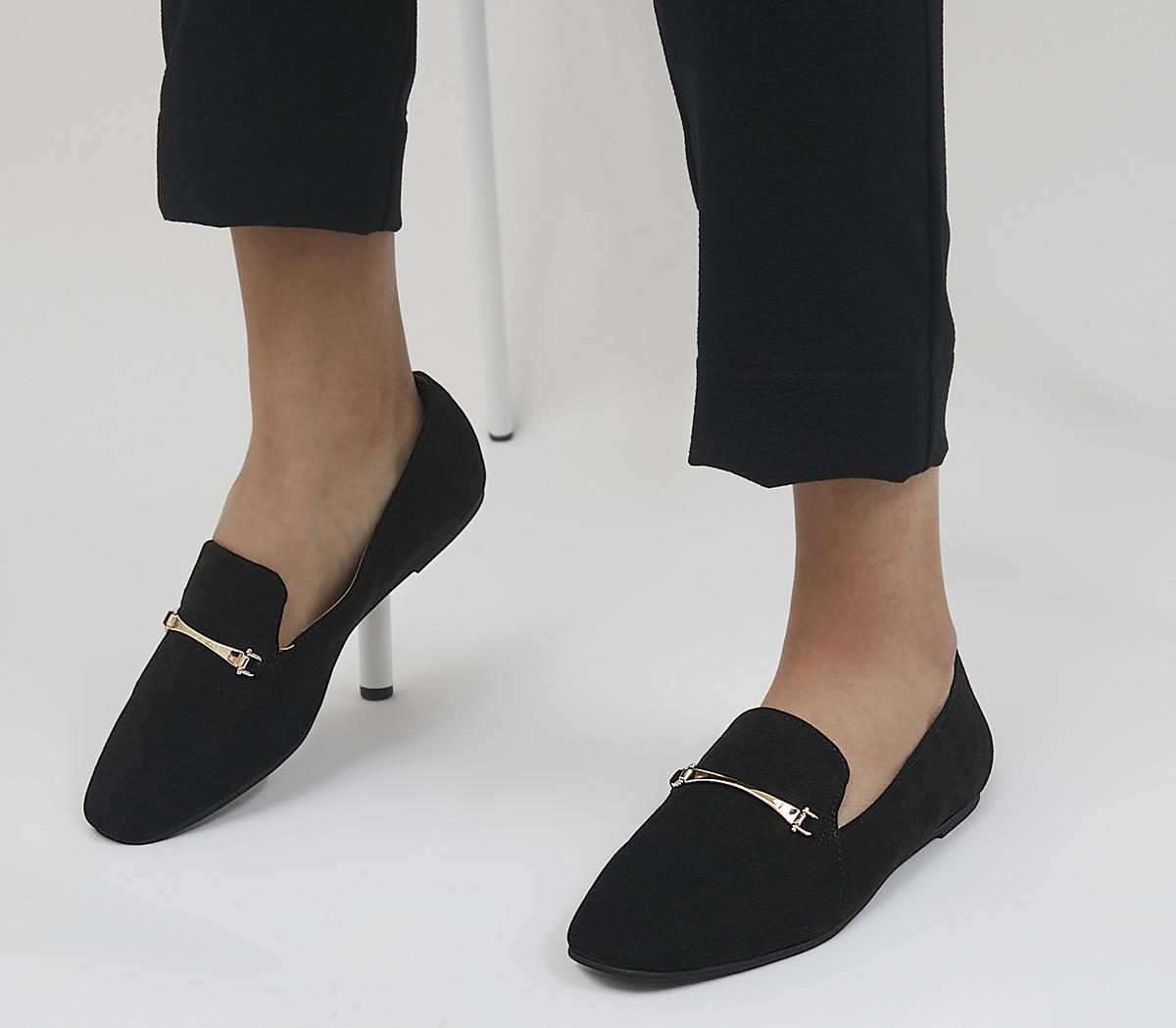 Frilled Feature Trim Slippers