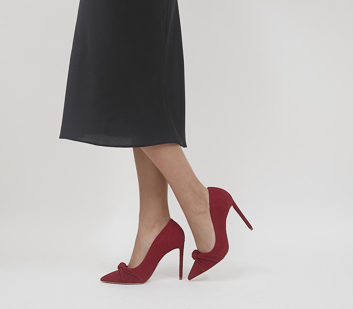 Harlingen Knot Detail Pointed Court Heels