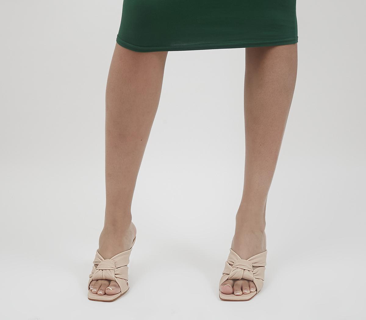 Henderson Woven Detail Mule Heels