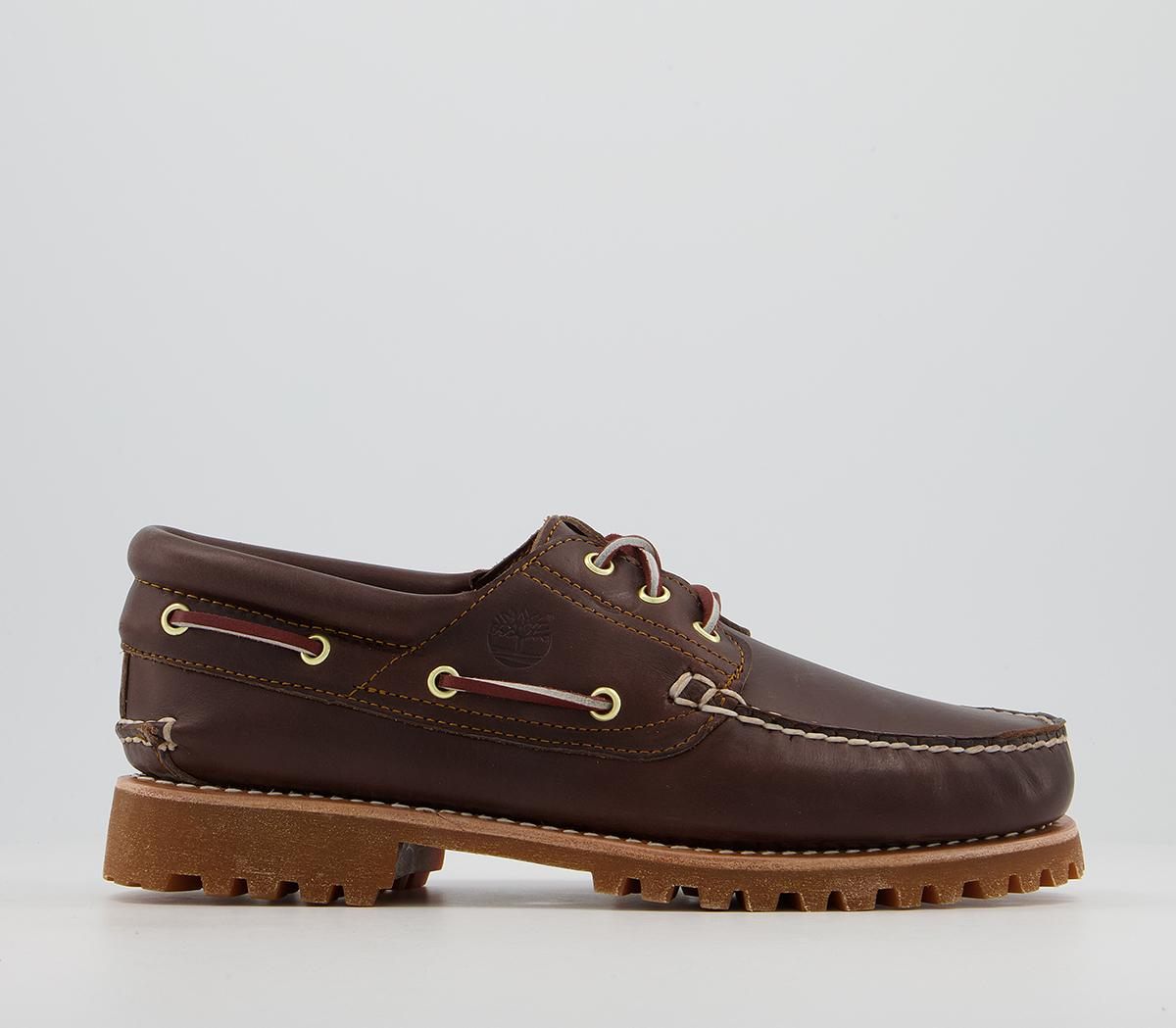 3 Eye Classic Lug Boat Shoes