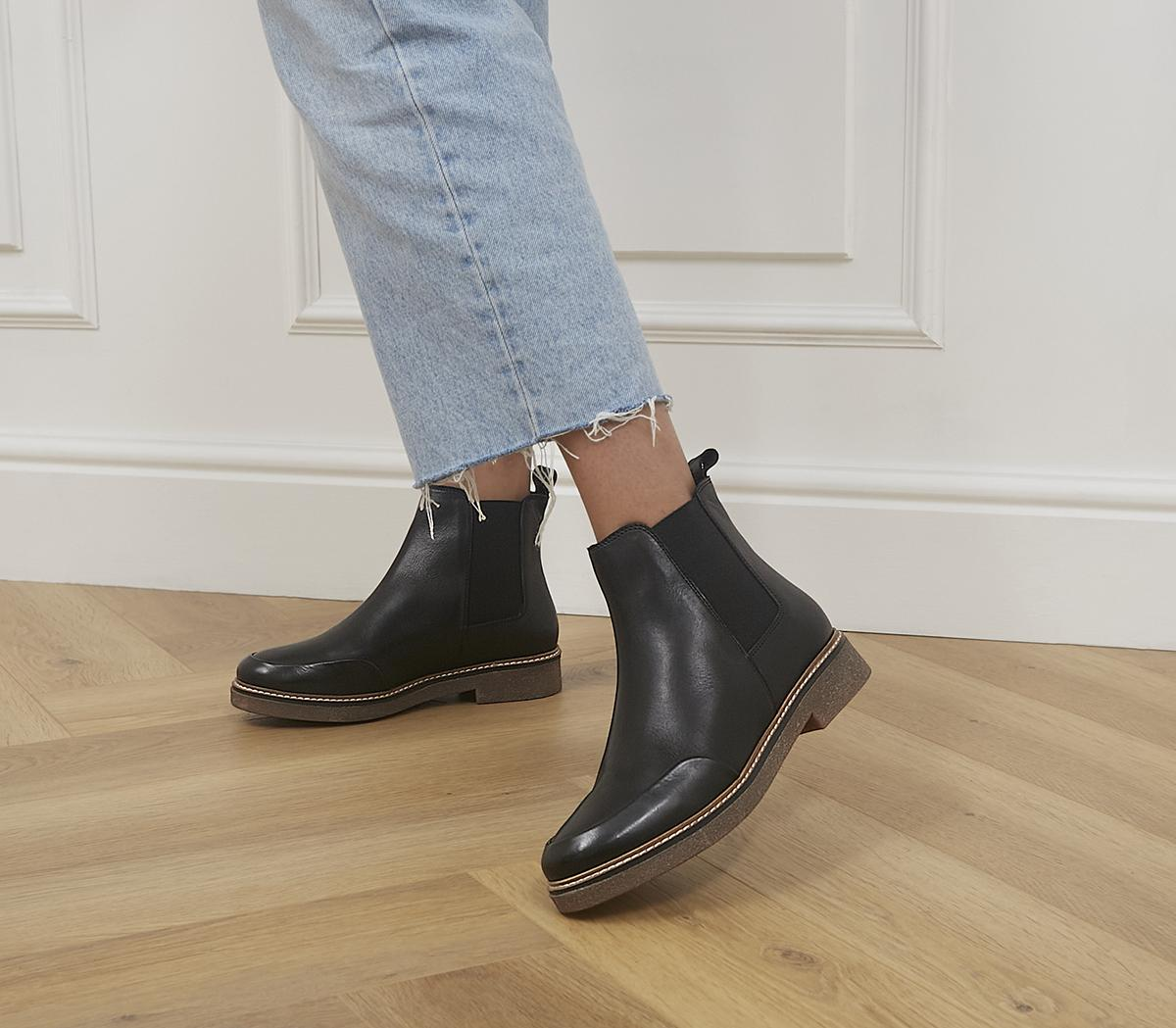 Actioning Crepe Sole Chelsea Boots
