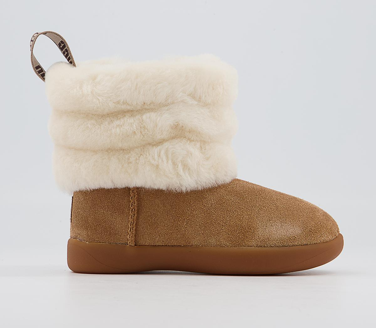 Mini Quilted Fluff Infant Boots