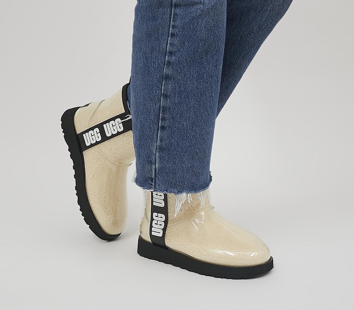 Classic Clear Mini Boots