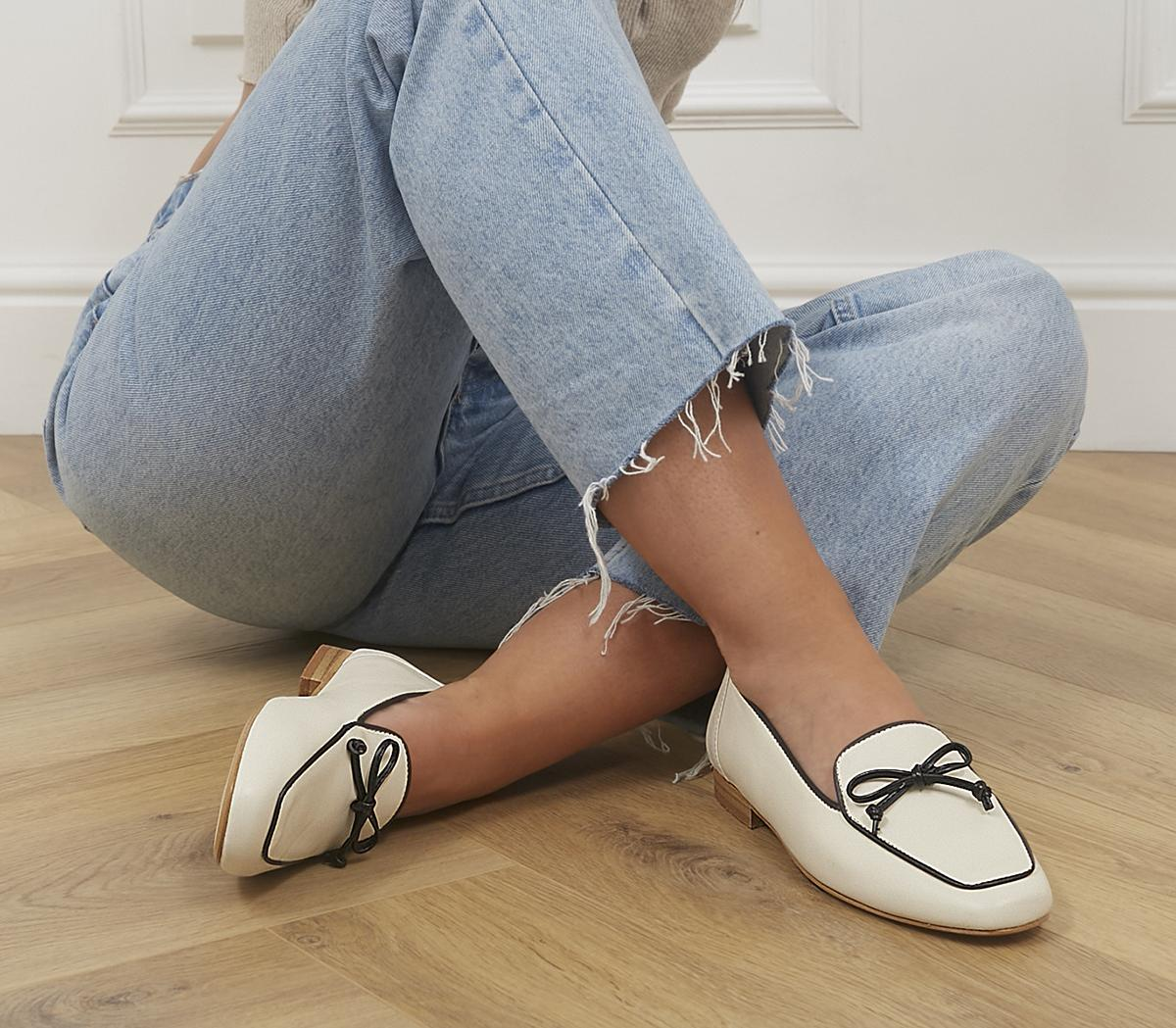 Finesse Soft Bow Loafers