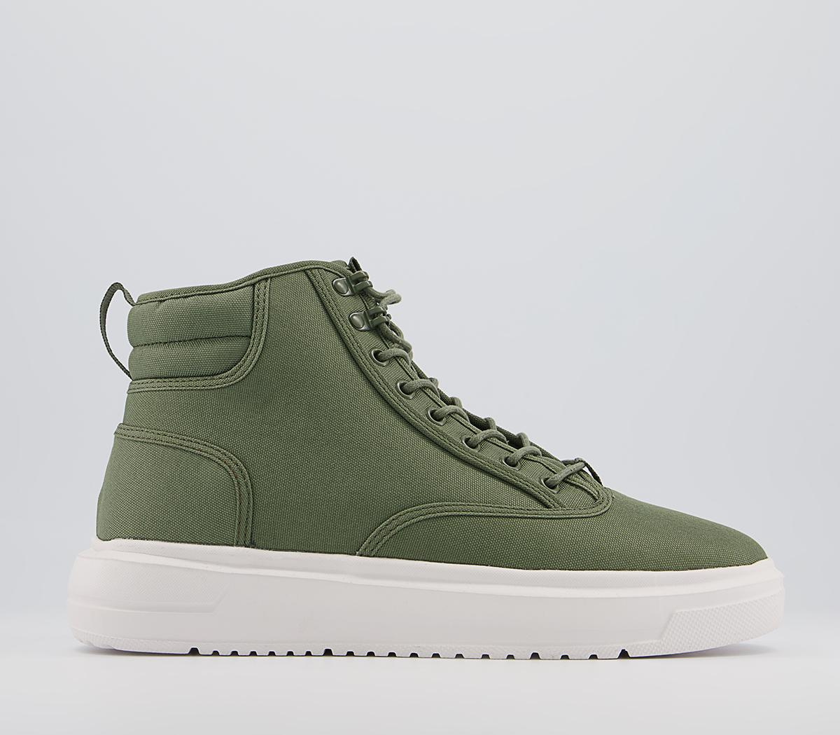 Chino Mid Top Trainers