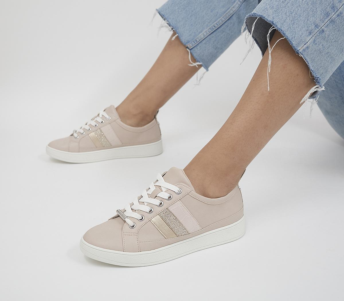 Finale Side Detail Lace Up Trainers