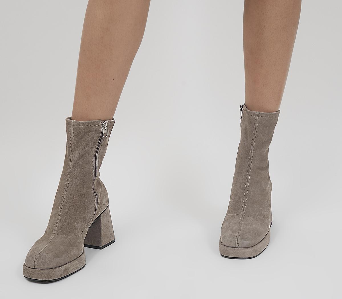 Auckland Platform Sock Boots