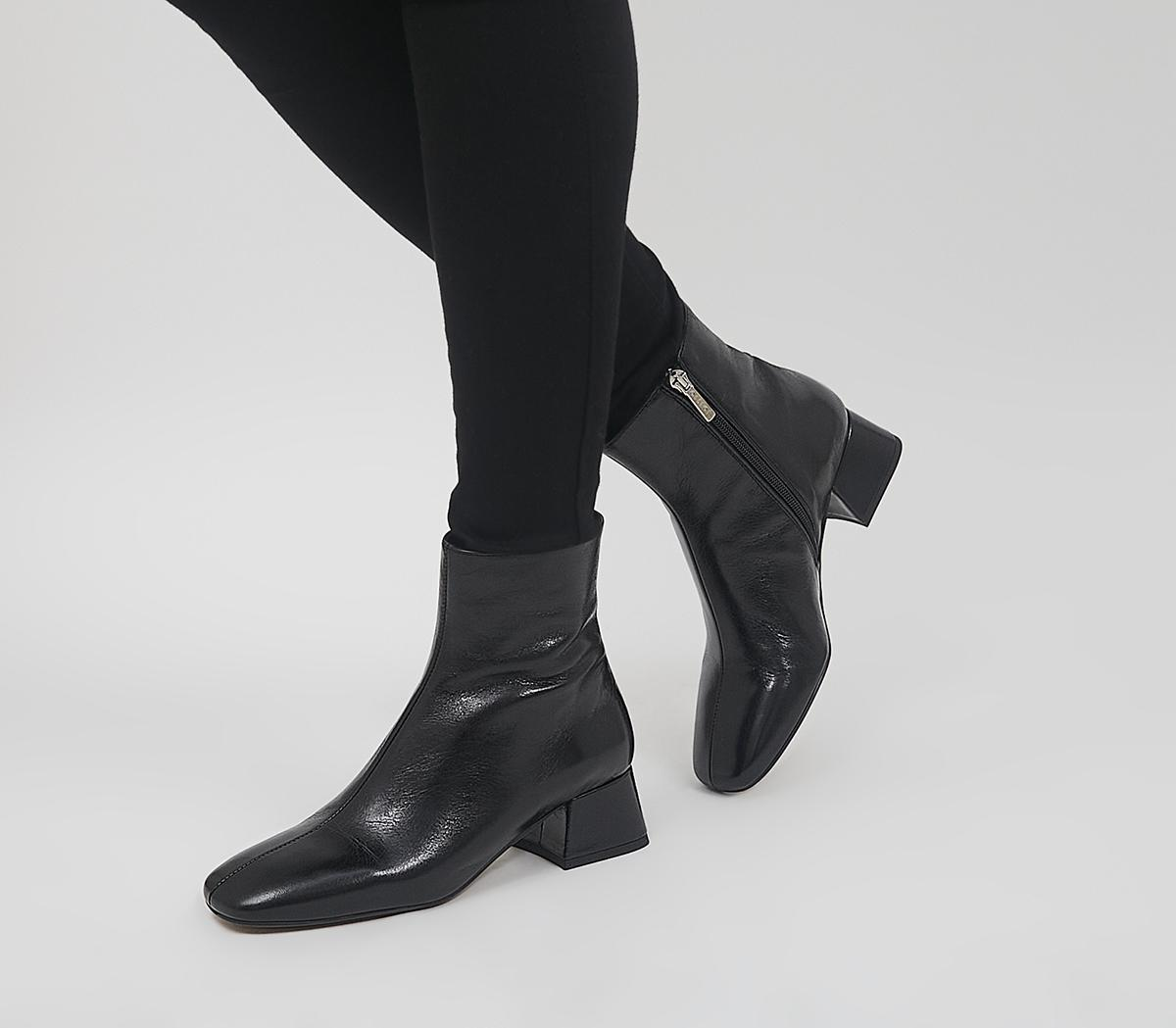 Approval Low Square Toe Boots