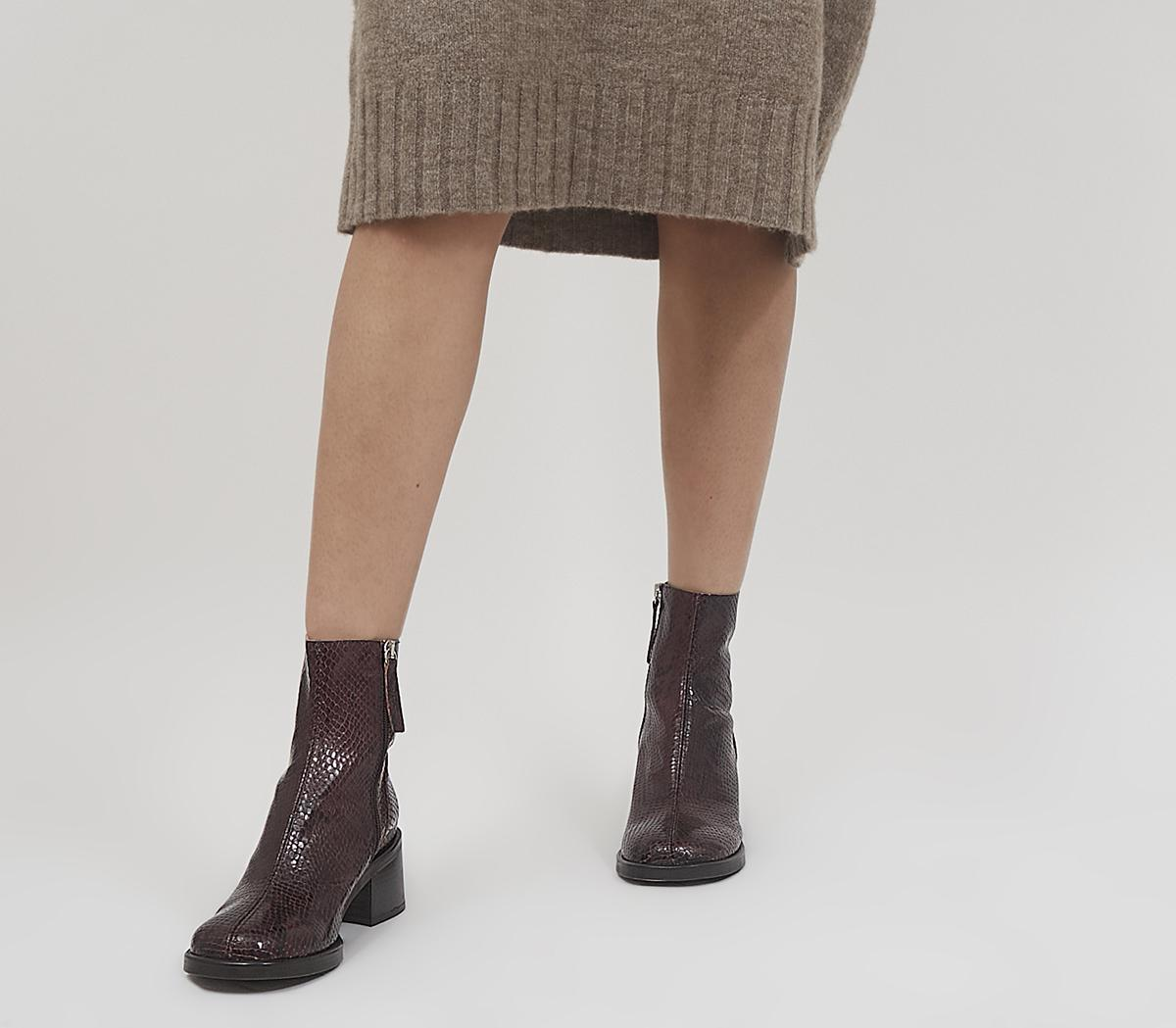 Alicante Chunky Clean Boots