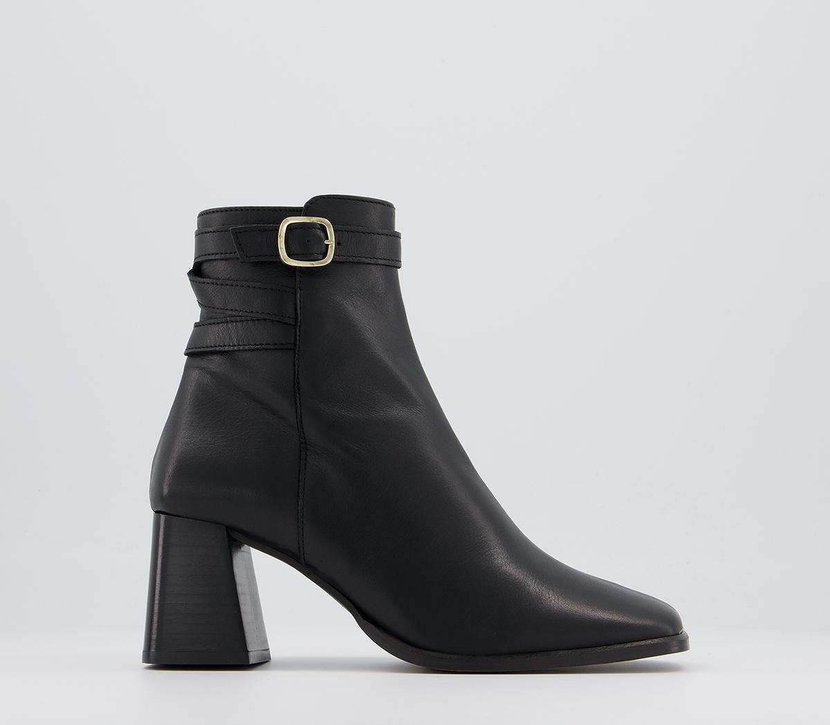 Alicia Multi Strap Heeled Boots