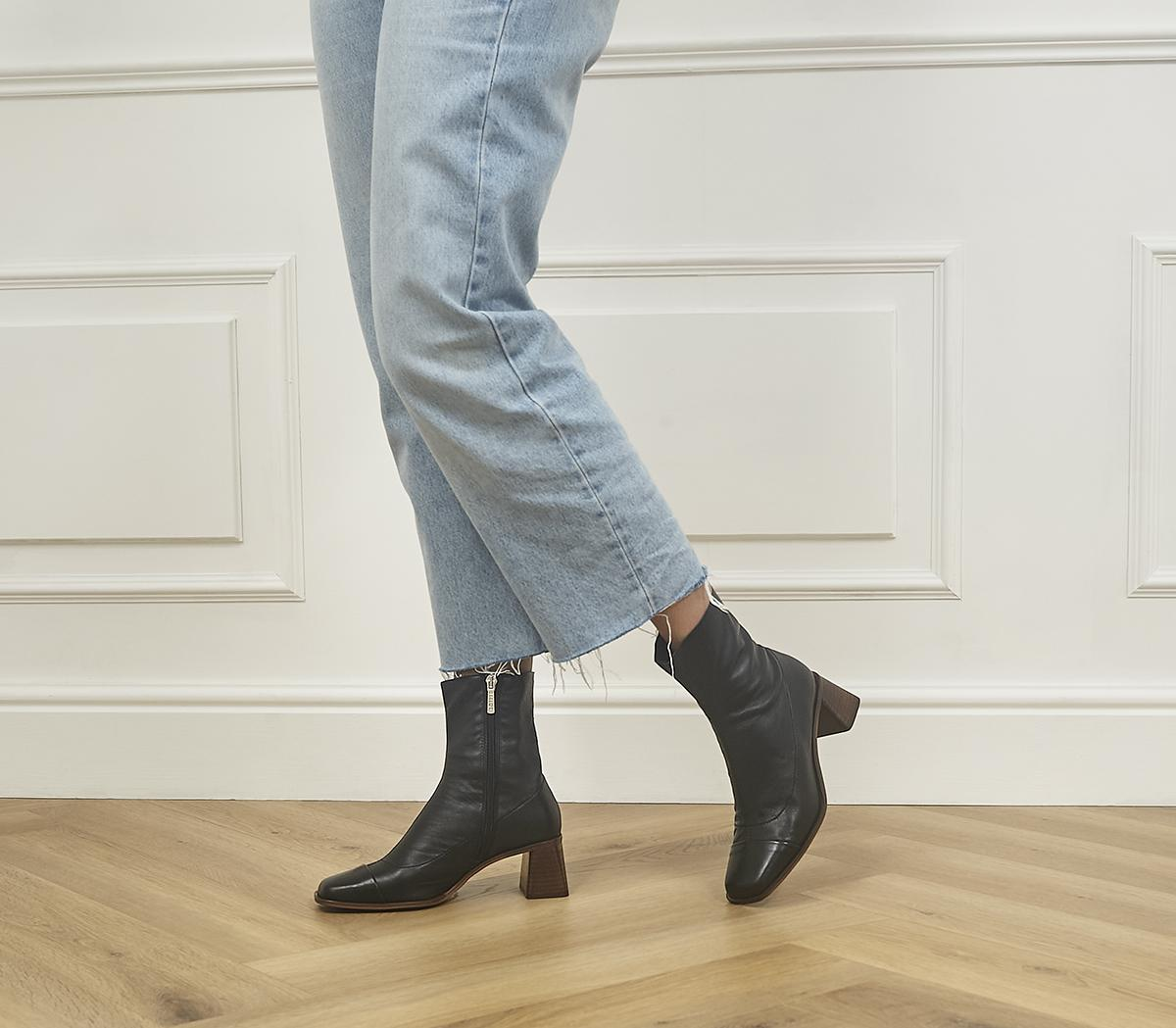 Anagram Square Toe Sock Boots