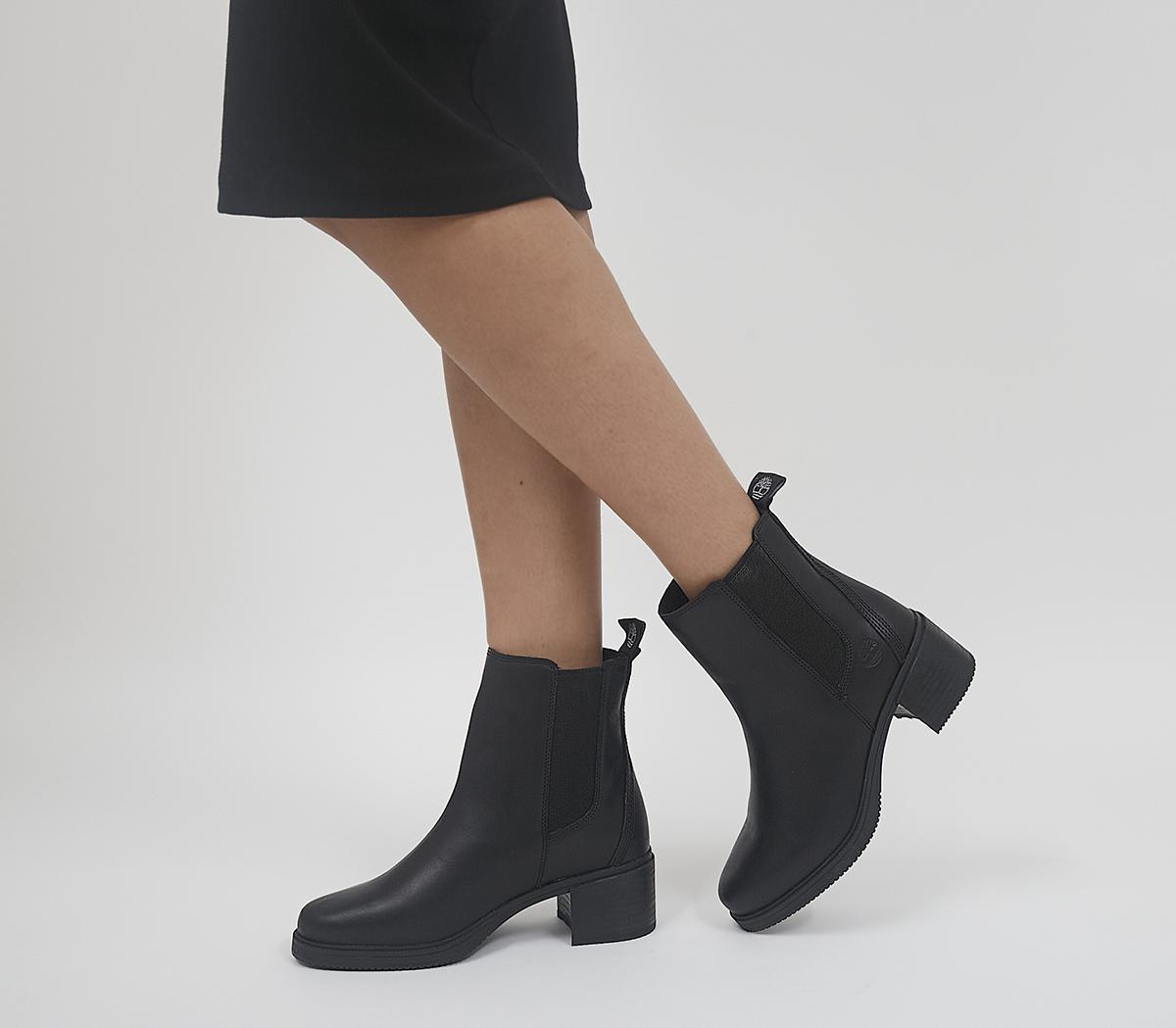 Dalston Vibe Heeled Chelsea Boots