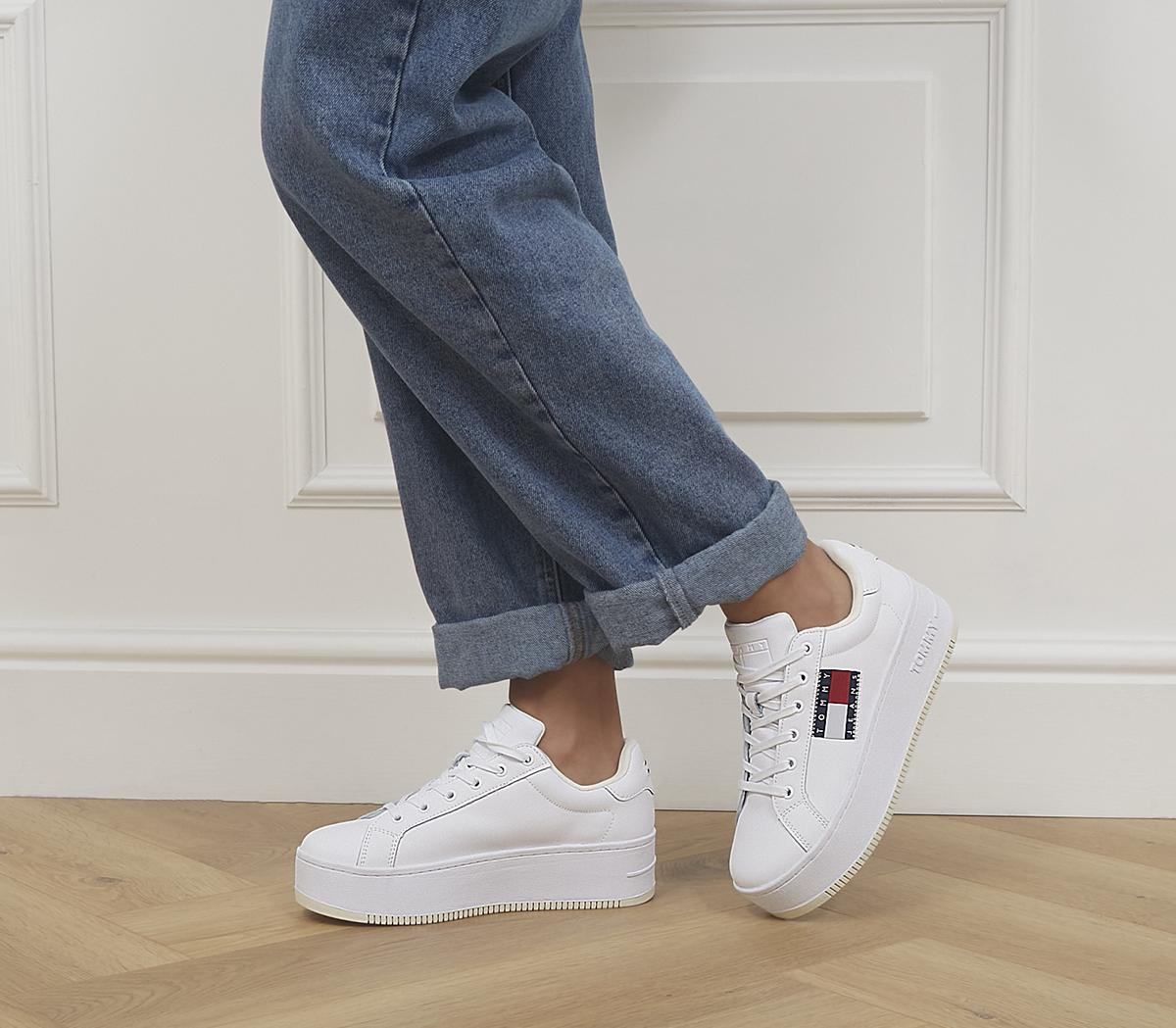 Flatform Flag Sneakers