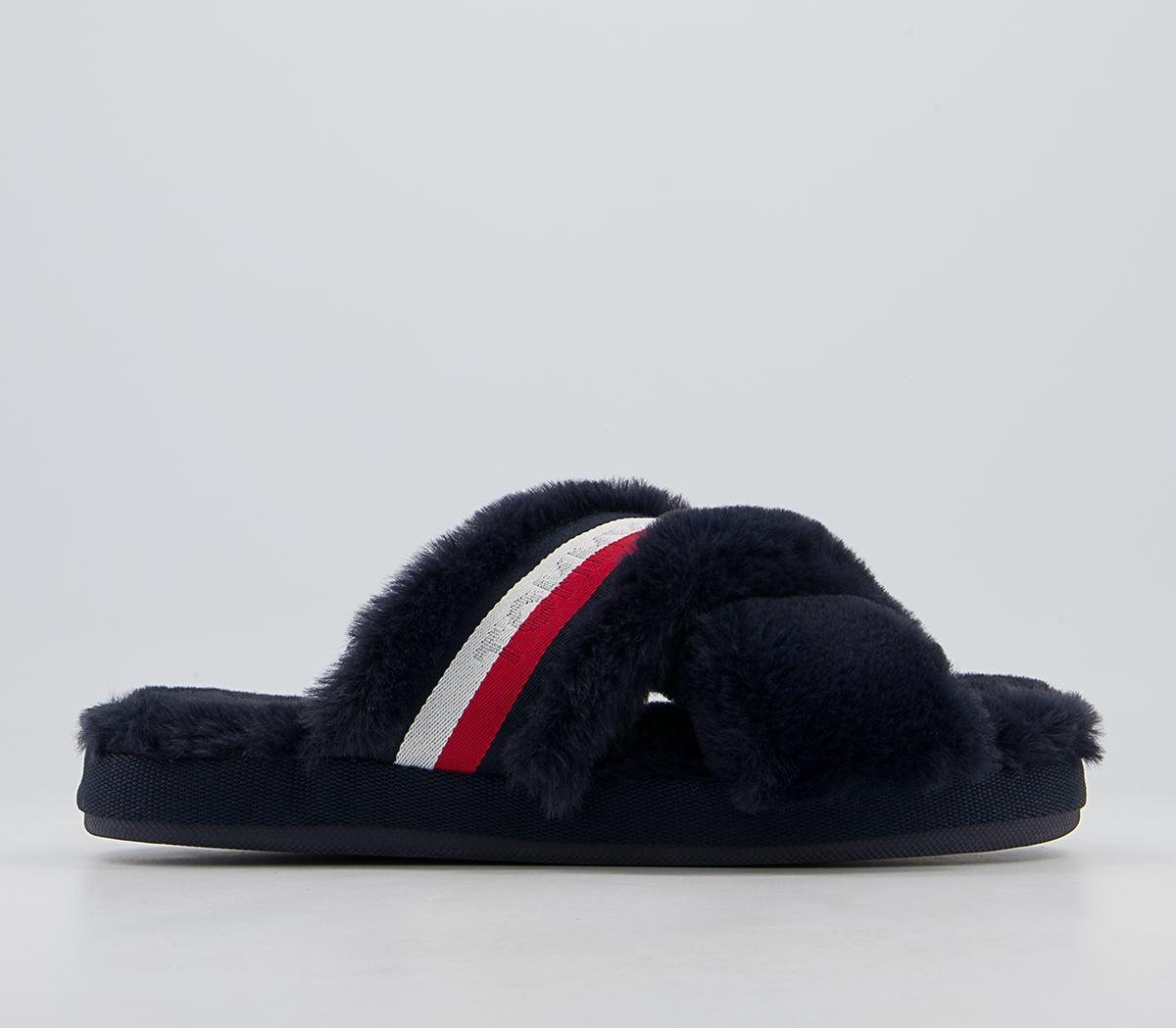 Tommy Furry Home Slippers
