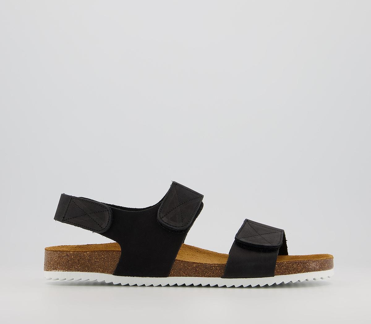 Sokoto Back Strap Velcro Sandals
