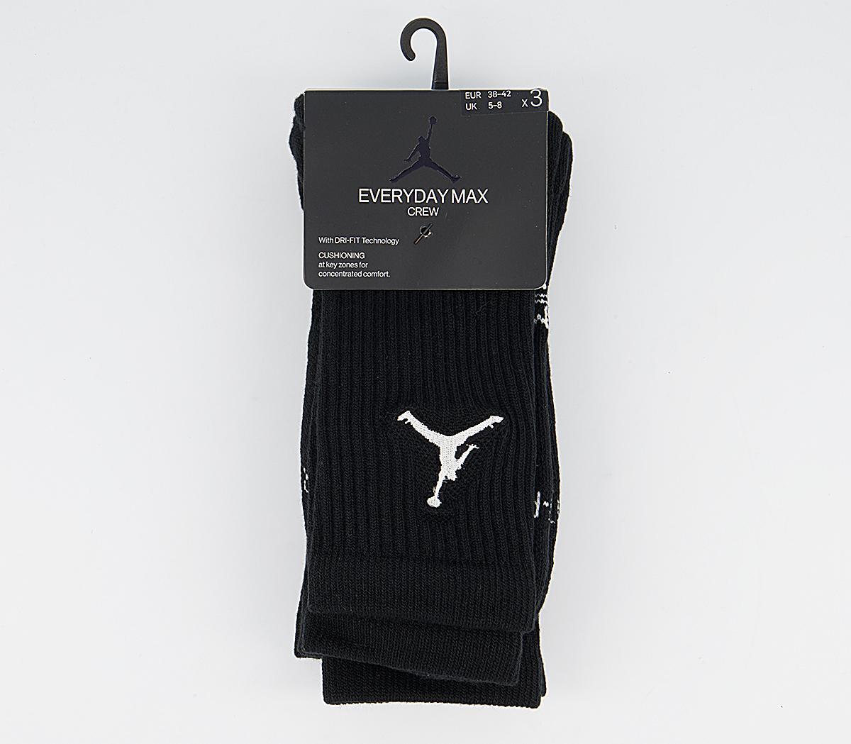 Jordan Crew Socks 3 Pack
