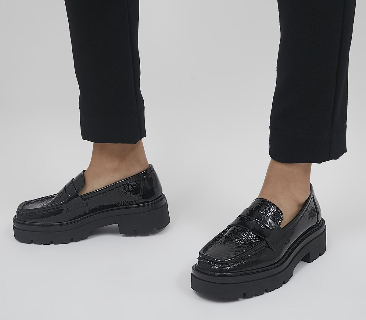 Fetching  Square Toe Chunky Loafers