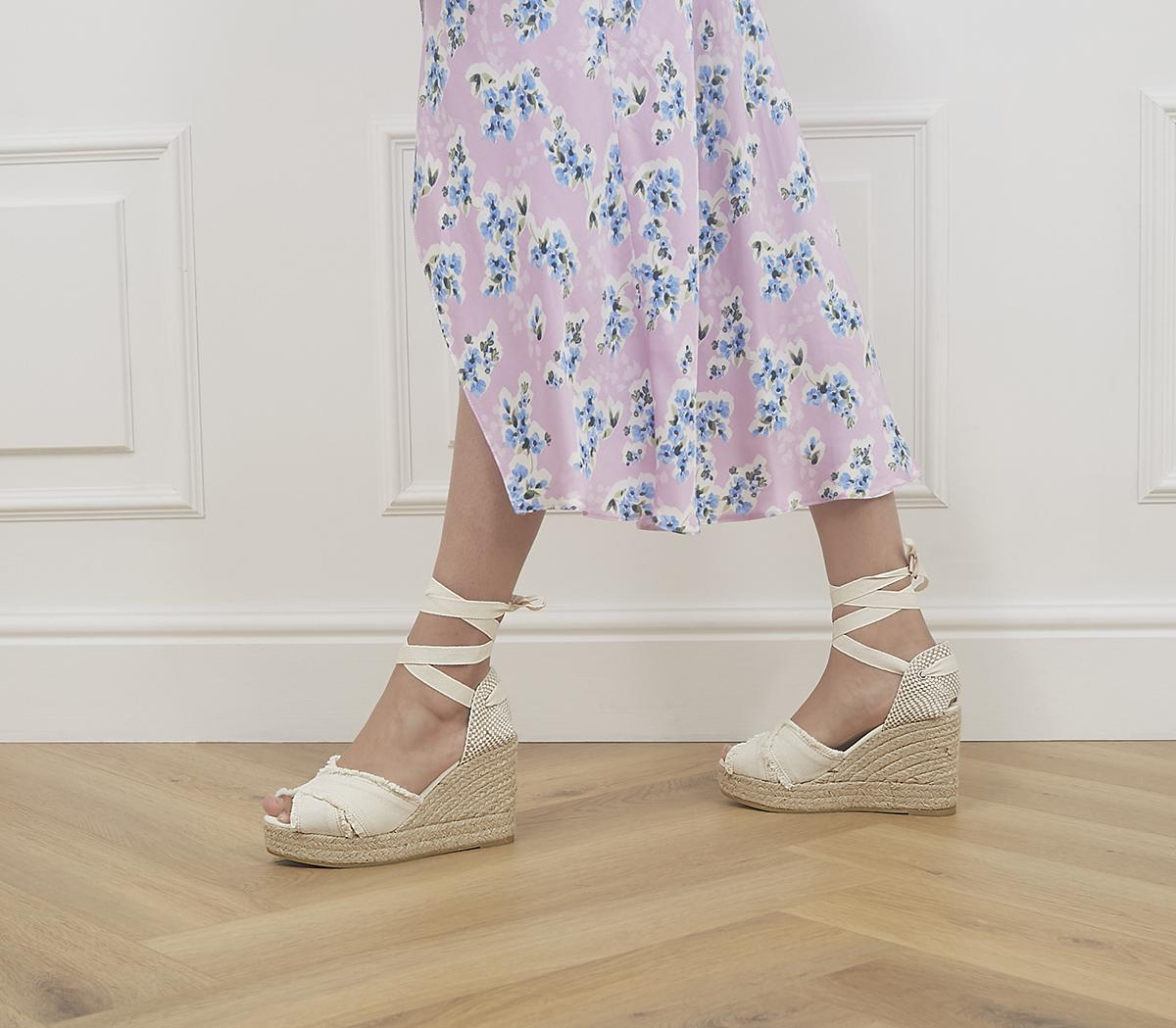 Astra Ankle Tie Wedges