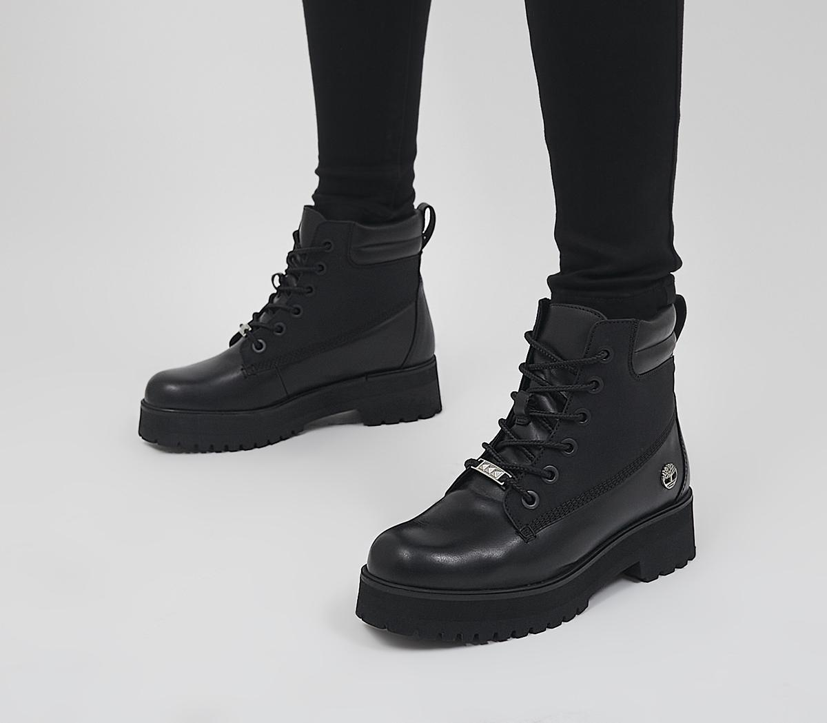 6 Inch Stack Boots