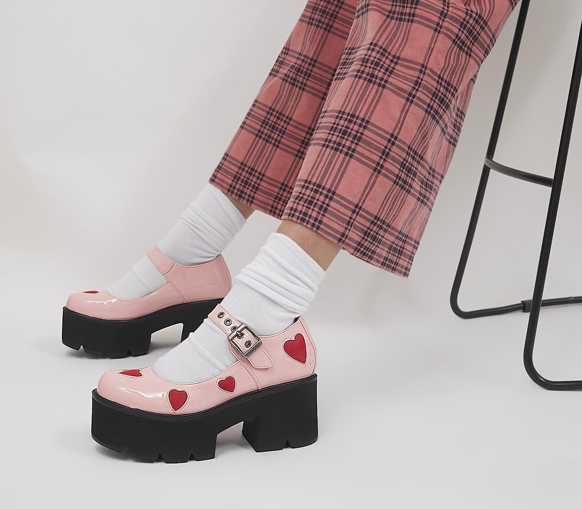 Ladies Night Platform Mary Jane Shoes