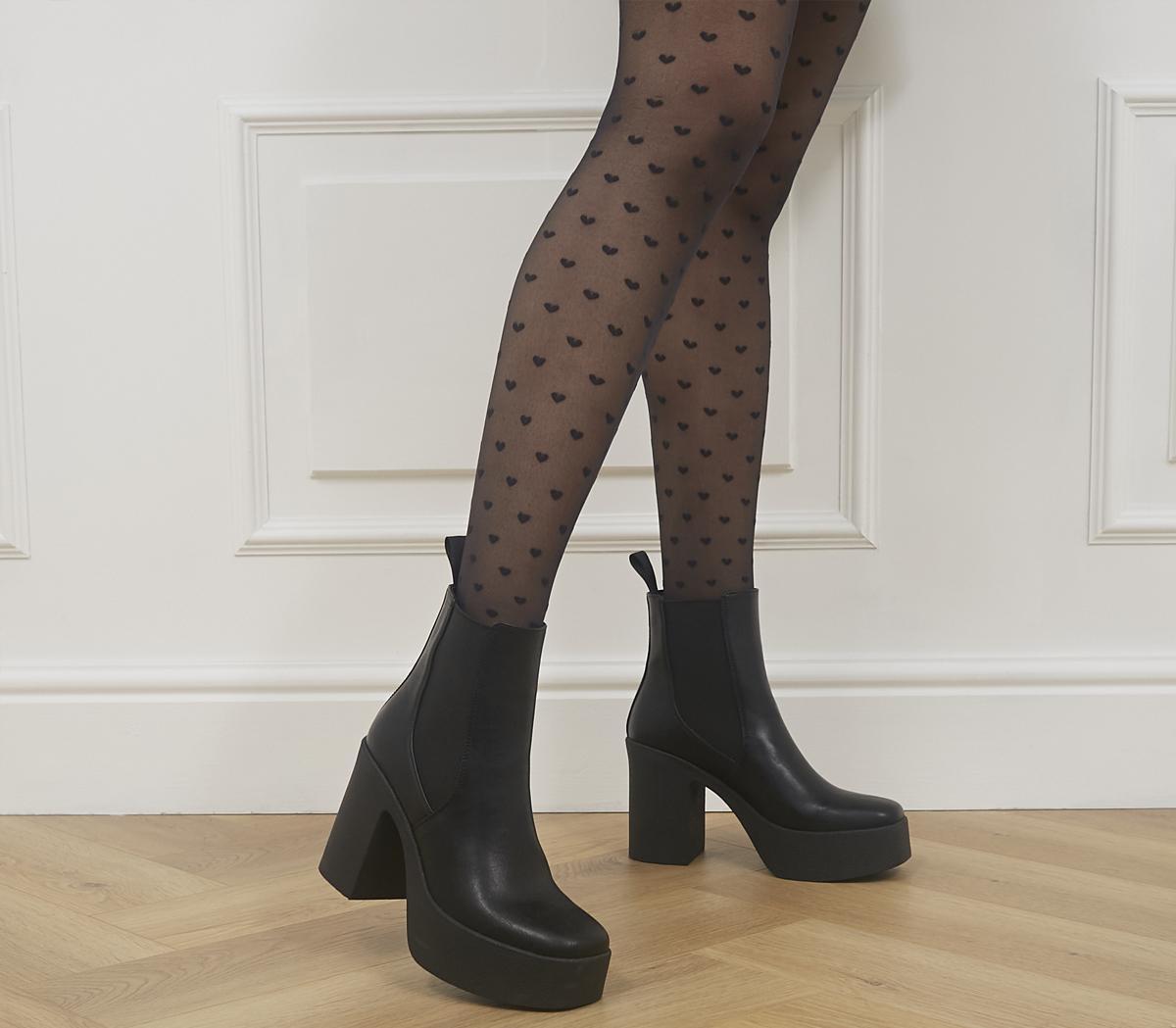 Pick N Mix Ankle Platform Boots