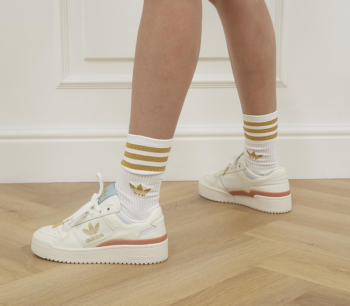 Mid Cut Glitter Socks