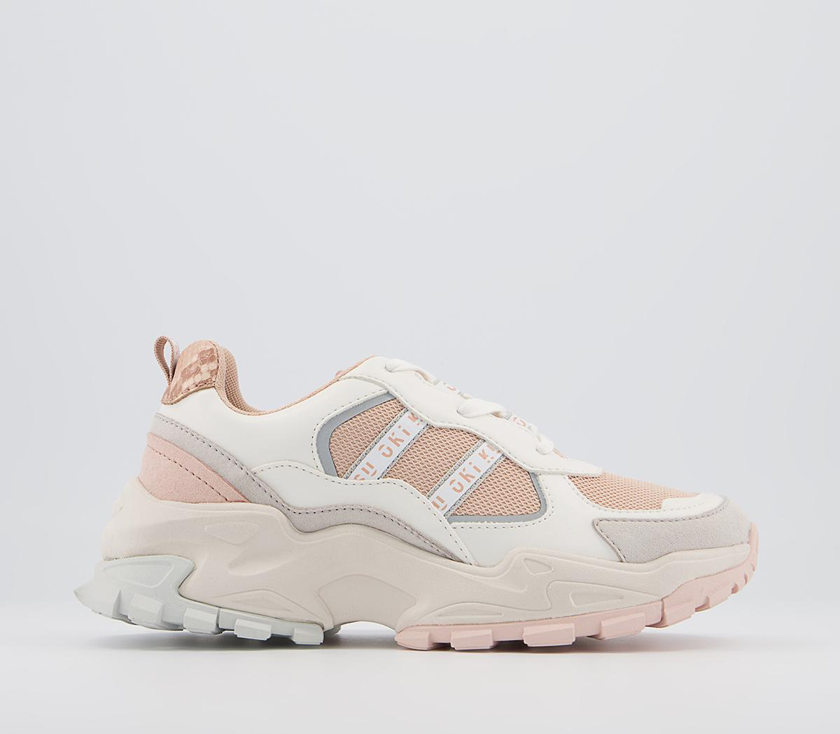 O806 Lace Up Trainers