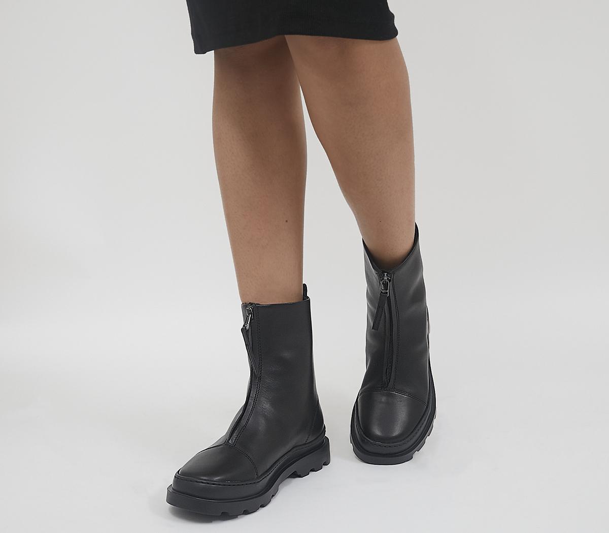Brutus Front Zip Boots