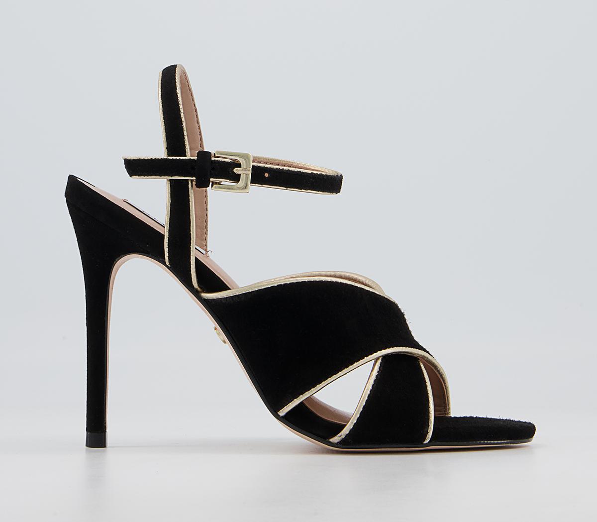 Homeland Cross Vamp Dressy Stiletto Heels