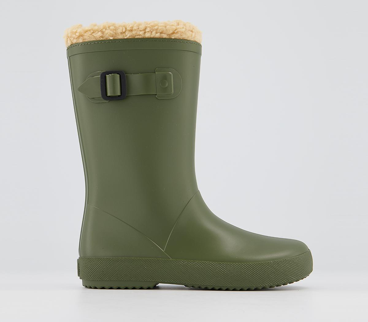 Splash Shearling Lined Welly Boots