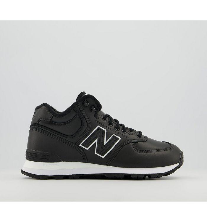 Comme Des Garcons 574 Trainers BLACK,Black,Natural