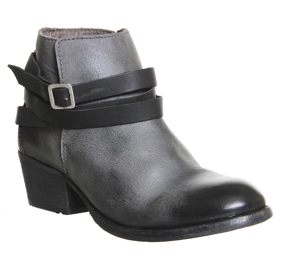 Horrigan Strap Ankle Boots
