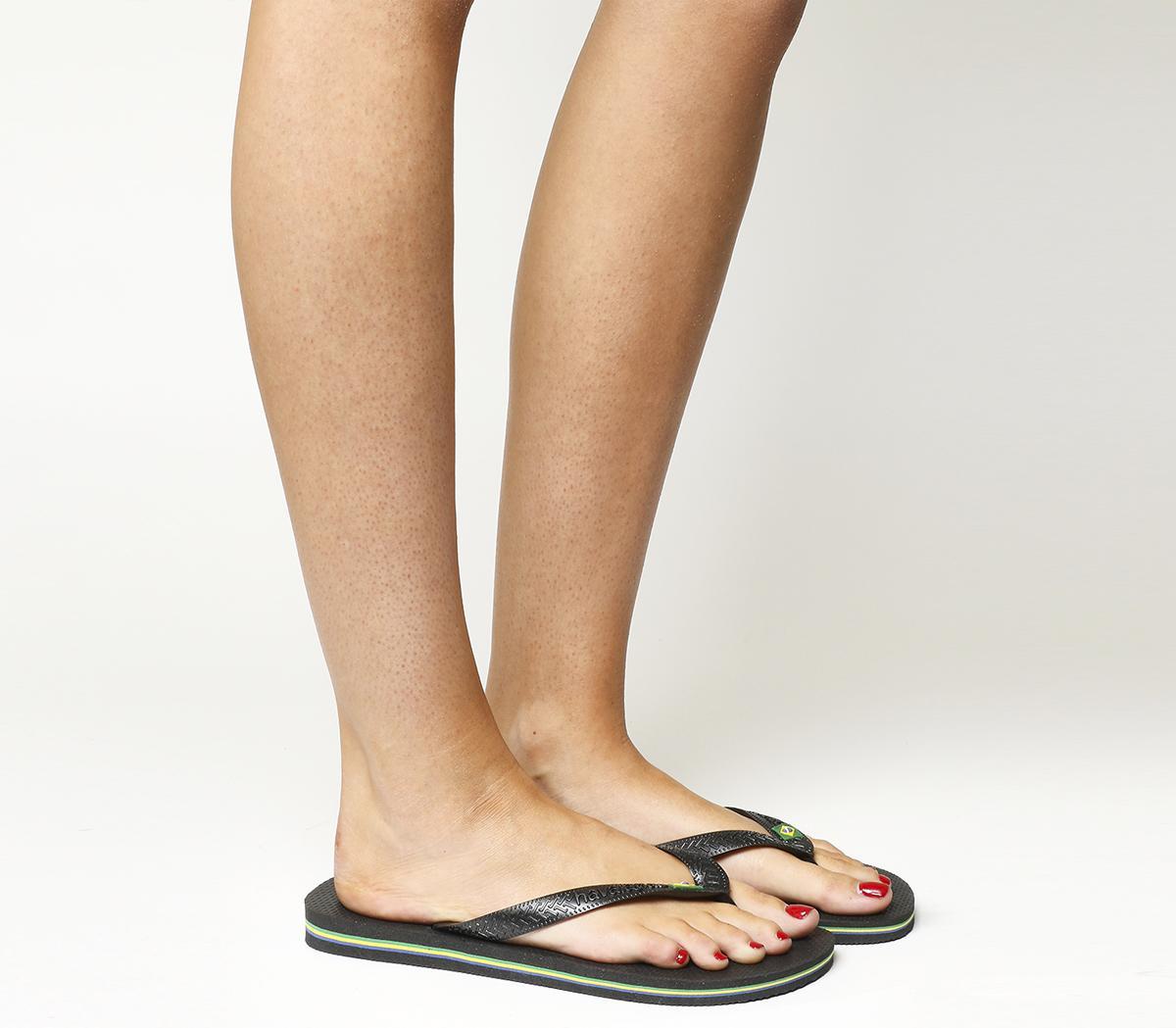 Havaianas Brazil Flip-flop Black Rubber
