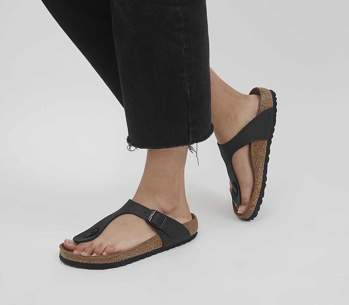 Gizeh Toe Thong Footbed Sandals