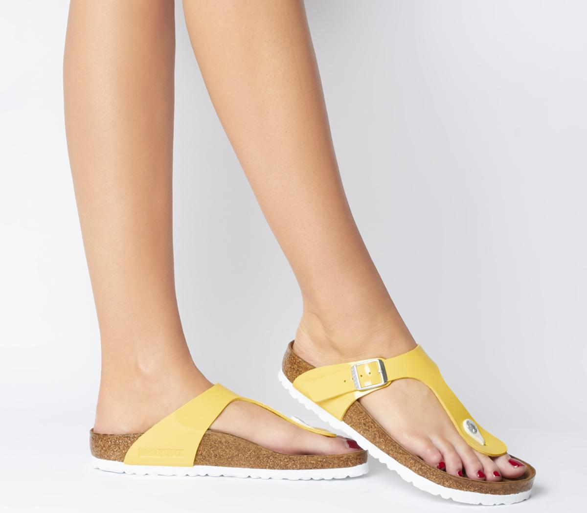 Toe Thong Footbed Sandals